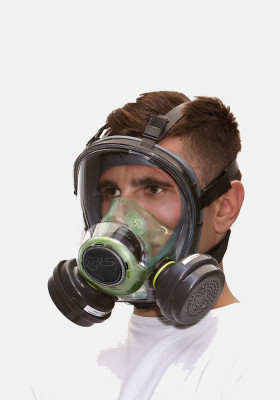 BLS 5600 b-lock Full Face Mask, without filters
