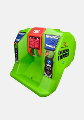 Radians REW01116 16 Gallon Emergency Eyewash Station with additive